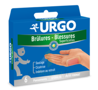Urgo Brulures-blessures Petit Format X 6 à MONTPELLIER