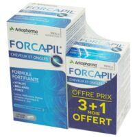 Forcapil Gélules croissance vitalité cheveux ongles B/180+60 à MONTPELLIER