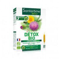 Santarome Bio Détox Solution Buvable 20 Ampoules/10ml à MONTPELLIER