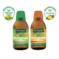 Ultradraine Bio Solution buvable Thé vert citron Fl/500ml à MONTPELLIER