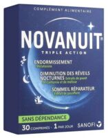Novanuit Triple Action Comprimés B/30 à MONTPELLIER