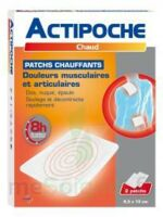 Actipoche Patch chauffant douleurs musculaires B/2 à MONTPELLIER