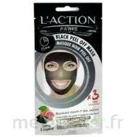 L'action Masque Au Charbon à MONTPELLIER