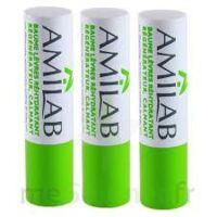 Amilab Baume labial réhydratant et calmant lot de 3 à MONTPELLIER
