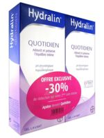 Hydralin Quotidien Gel lavant usage intime 2*200ml à MONTPELLIER