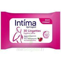 Intima Gyn'Expert Lingettes Cranberry Paquet/30 à MONTPELLIER