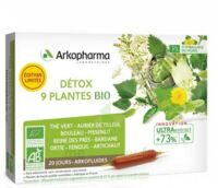 Arkofluide Bio Ultraextract Solution buvable détox 9 Plantes 20 Ampoules/10ml à MONTPELLIER